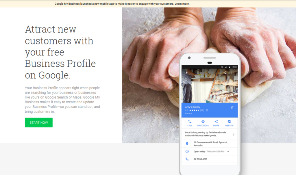 Attract new customers with your free Business Profile on Google.