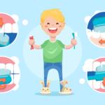 Dental care for baby teeth & gums