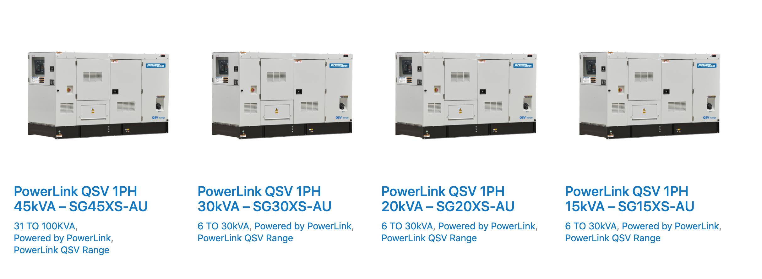 Power generator marketing